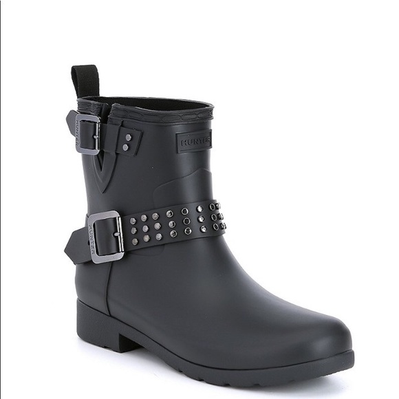 Hunter Shoes - Hunter Boots Refined Ankle Rain Boot  NWT